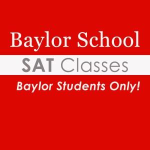 Baylor Students SAT Only