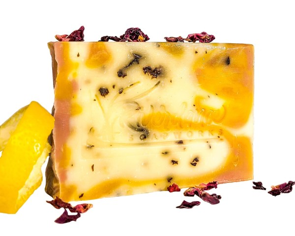 lemon rose lemon soap product image