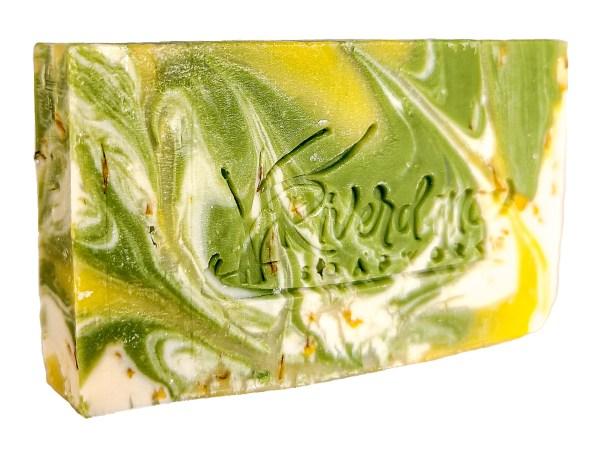 Lemon Verbena lemon Soap side image