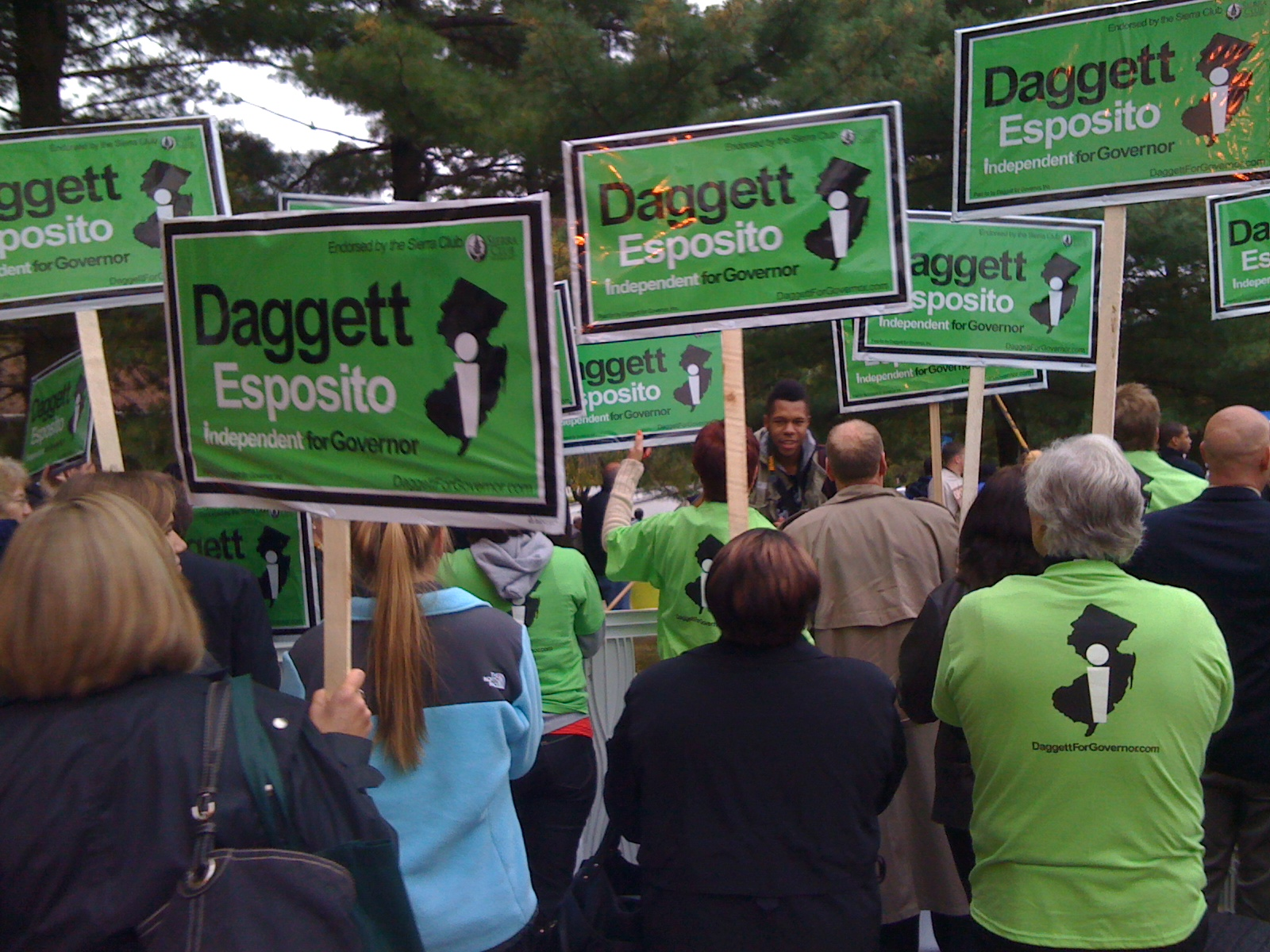 Daggett's Sea of Green