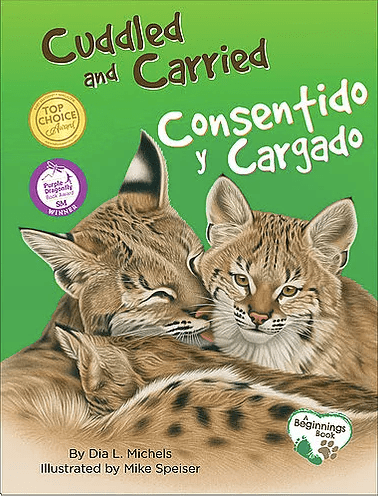 Cuddled & Coddled Board Book Cover