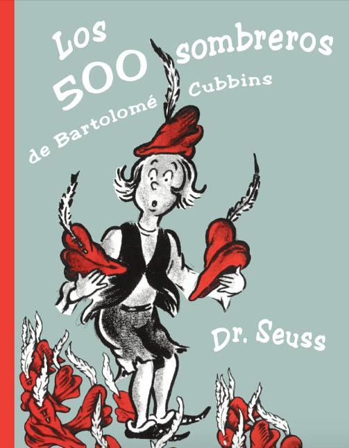 Los 500 sombreros de Bartolomé Cubbins (The 500 Hats of Bartholomew Cubbins) cover