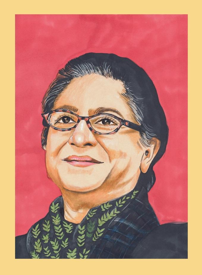 Asma Jahangir portrait