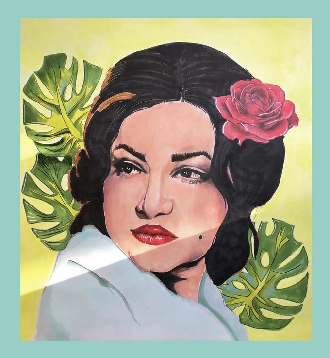 Noor Jehan portrait