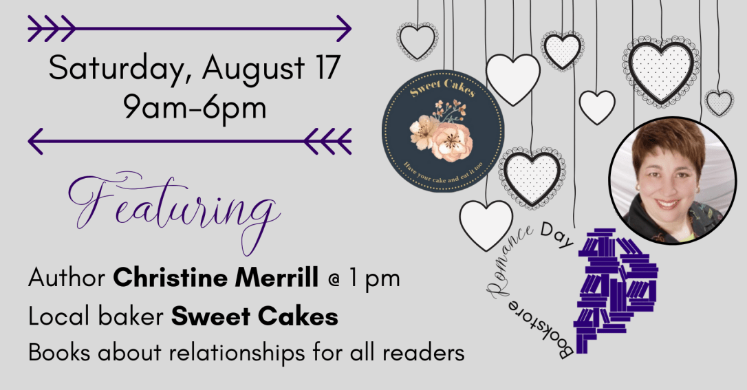 Bookstore Romance Day Author Event