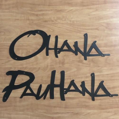 Ohana and PauHana Shown Together