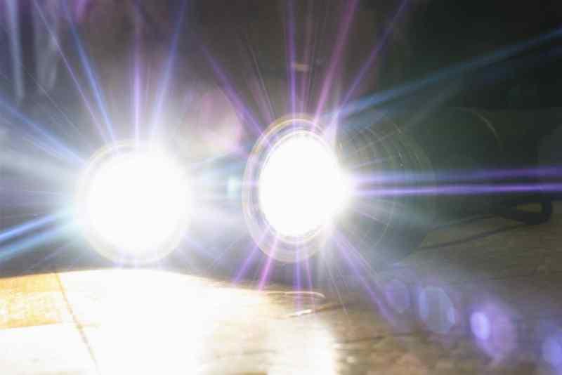 Tactical Flashlight Output