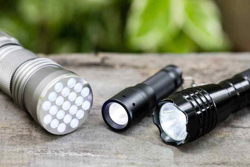 Tactical Flashlight Sizes