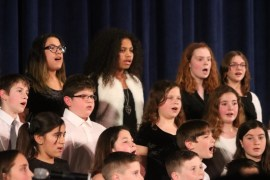 "Pulaski Street School chorus performs ""What's Going On."""