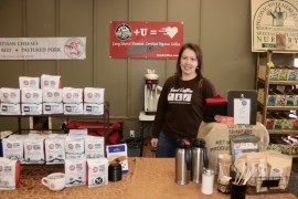 Cindy Young of Shirley-based Tend Coffee