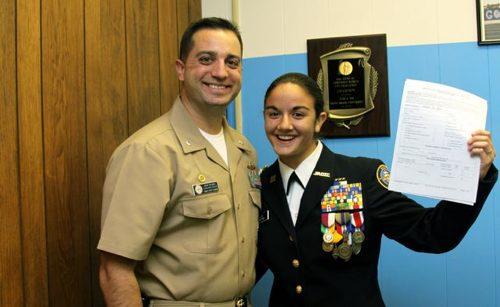 RHS Cadet Wins Full Navy ROTC Scholarship RiverheadLOCAL