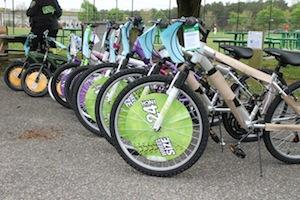 2013 0424 bike rodeo bikes