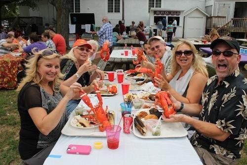 2013 0812 elks lobster bbq