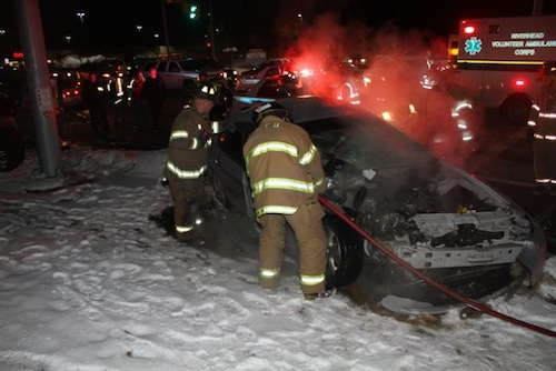 Third night in a row of car accidents on Route 58
