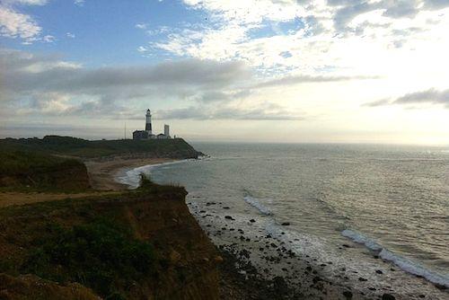 Montauk Point lighthouse. (Photo credit: Wikimedia Commons)