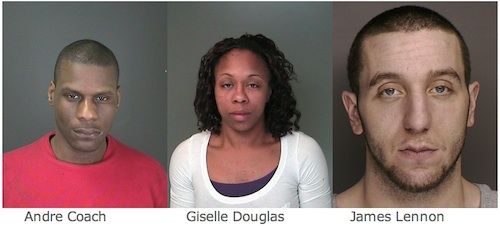 Three people from Flanders-Riverhead face felony drug charges after