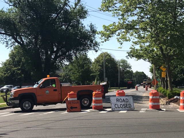 Road work today: Highway crews working on Ostrander and