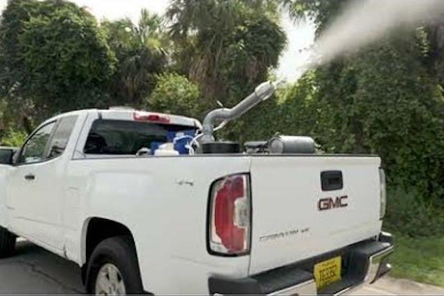 An ultra-low volume sprayer