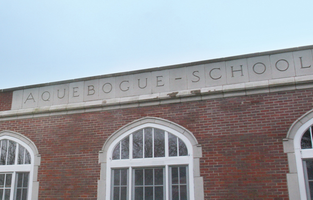 For those not from the area, Aquebogue can be tricky to spell. (Credit: Barbaraellen Koch)