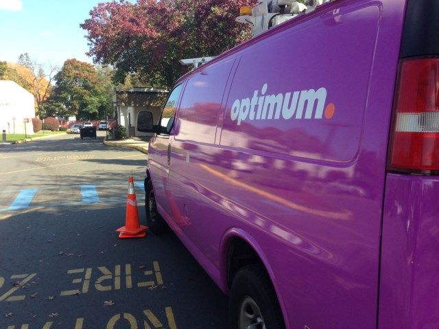 It appears Optimum will be the only cable provided on the East End for awhile. (Credit: Paul Squire)