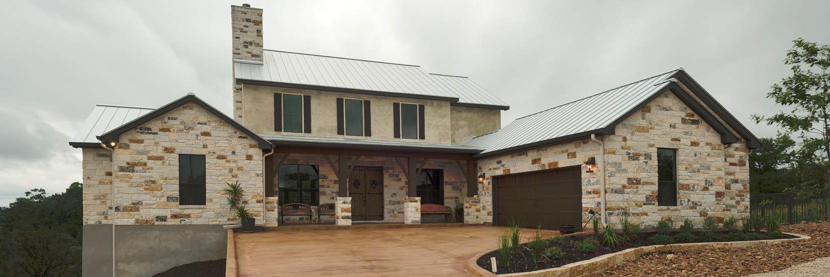 Best Kitchen Gallery: Custom Home Builder New Braunfels San Antonio Hill Country of Hill Country Home Designs  on rachelxblog.com