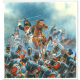 Box Cover Painting by Peter Dennis for Waterloo Quelle Affaire by River Horse