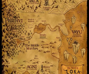 The World of Loka Playmat by River Horse