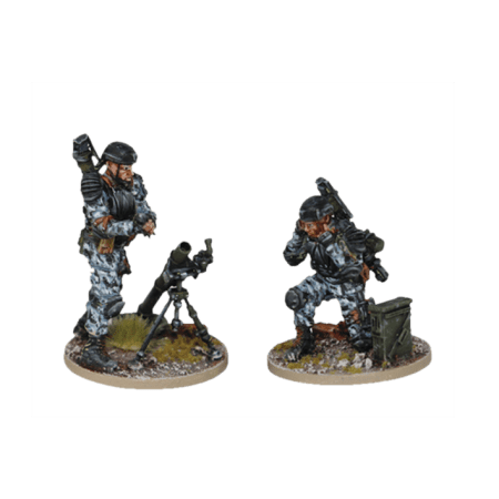 Mortar Team from Terminator Genisys the Miniatures Game by River Horse