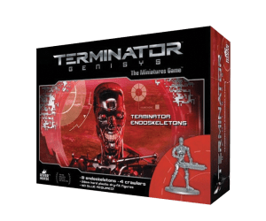 Endo Box Set from Terminator Genisys the Miniatures Game by River Horse