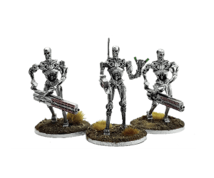 Command Collectors Set for Terminator Genisys the Miniatures Game by River Horse