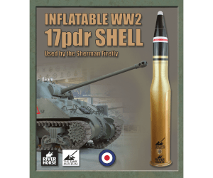 Inflatable WW2 17pdr Shell by River Horse