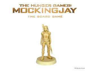 Katniss Resin for The Hunger Games: Mockingjay - The Board Game by River Horse