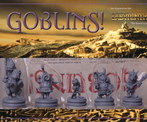 Goblins! expansion for Jim Henson's Labyrinth the Board Game by River Horse