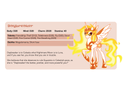 Creature Feature: Daybreaker - Tails of Equestria by River Horse Games