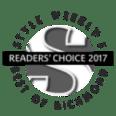 2017 best dentist in richmond va award logo - river run dental
