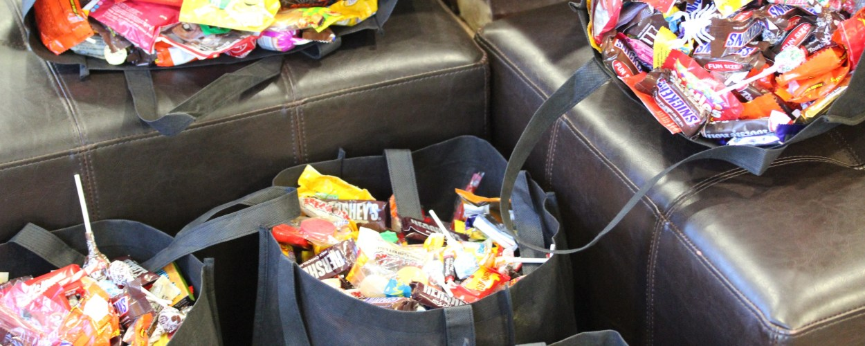 richmond, Va halloween candy buy back