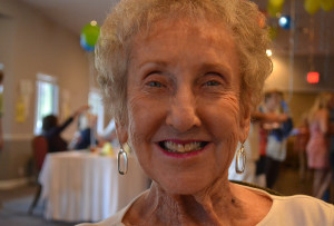 Jean Steele poses for a photo at the Havasu Pioneers Reunion. photo by Lizbeth Castellanos