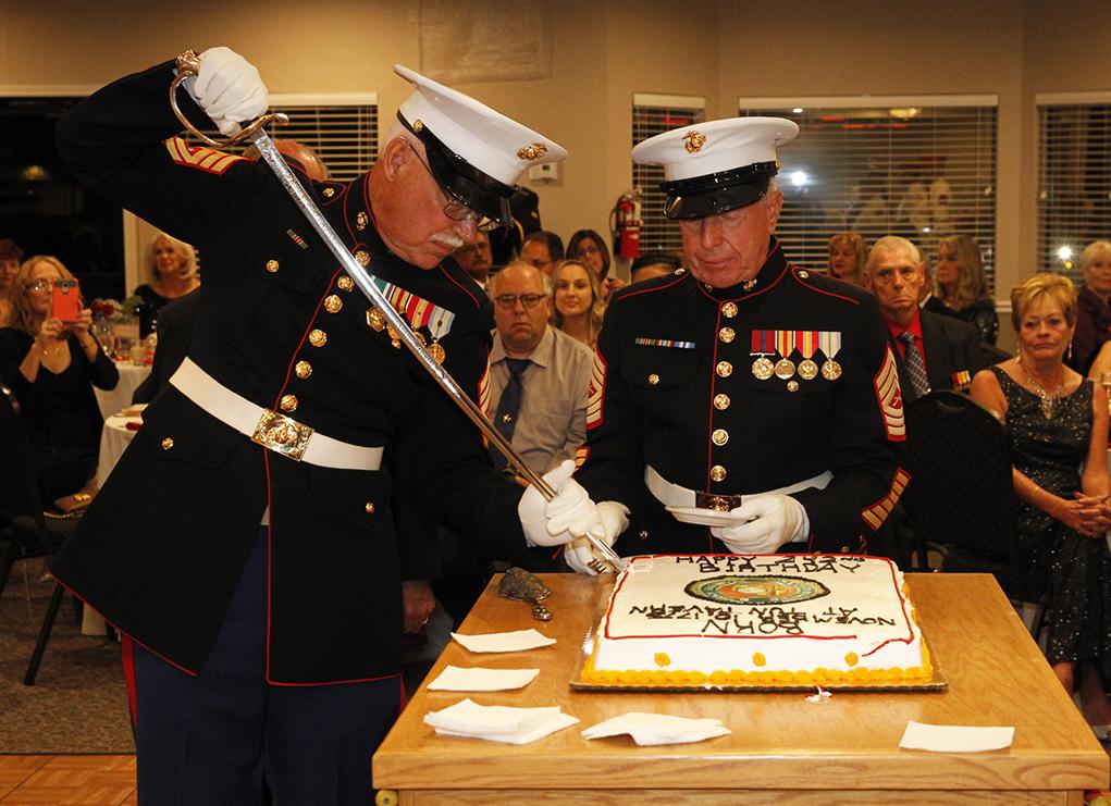Riverscene Magazine Marine Corps Birthday Celebrated