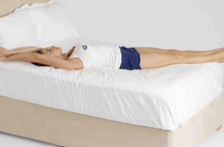 Image result for Full-body stretch IN BED