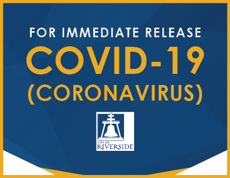 City of Riverside, Citing COVID-19 Surge, Reduces In-Person Services
