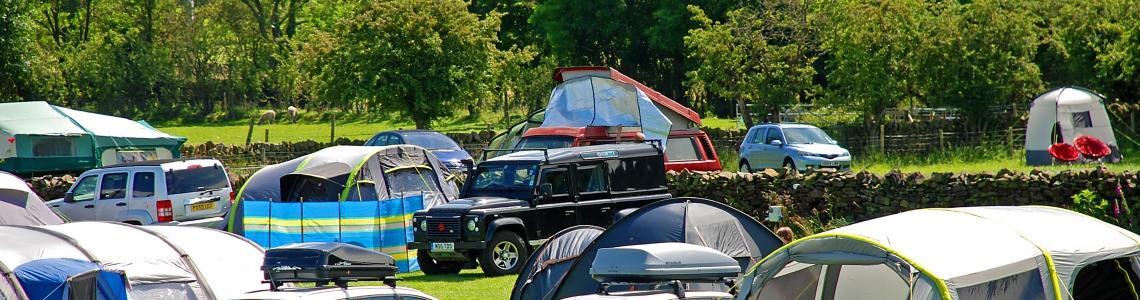 riverside camping field
