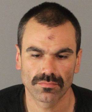 Edward Ochoa, arrested after fleeing from police.