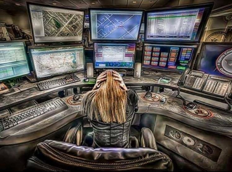 An Instagram share from _COPHUMOR_ expressed how much law enforcement appreciate their emergency dispatchers