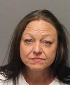 Sheri Alghriafy was arrested in Riverside after allegedly attempting to burglarize an occupied residence.