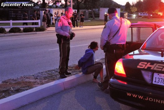 A female passenger was detained following the dangerous pursuit. William Hayes / Epicenter News