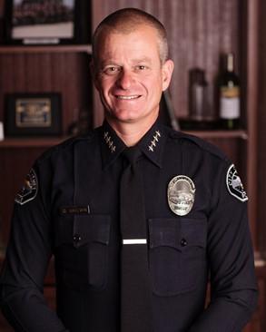 Hemet Police Chief David Brown