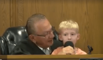 5-year-old Jacob helps Judge Frank Caprio decide his father's fate, related to a parking ticket.
