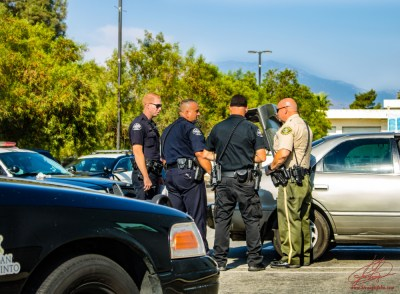 Officials disucss Rincon's arrest and the recovery of the stolen vehicle. John Strangis photo
