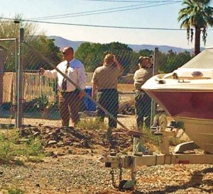 Sheriff's officials remained at the scene of the fatal shooting until the following afternoon. Seraphim Faith photo