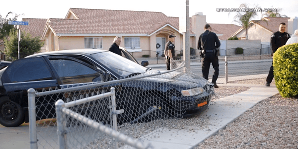 HEMET: Subject arrested after high-speed pursuit, crash
